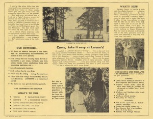 Historic brochure
