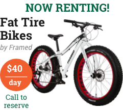 fat tire bike rentals