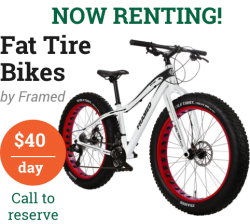 Fat Tire Bike Rental