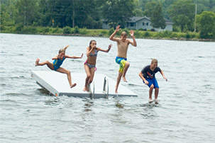 Summer fun on AuTrain Lake
