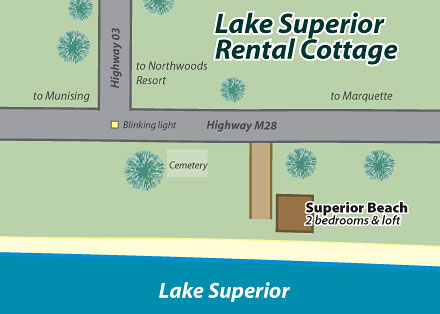 Lake Superior cabin rental