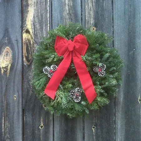 sampies of docorated christmas doors | just b.CAUSE