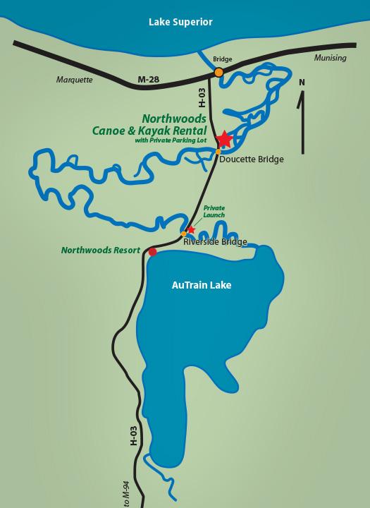 AuTrain River