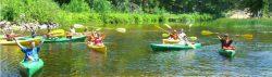 canoe kayak Au Train River