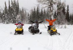 Munising snowmobiling