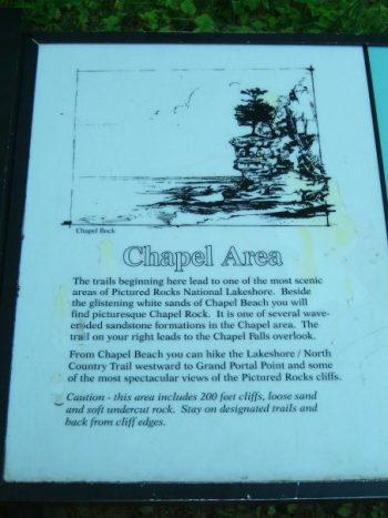 chapel area