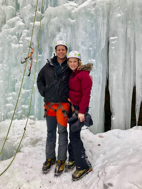 ice climbing success