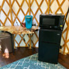 Keurig and mini fridge